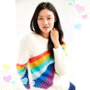 🌈 Urban Outfitters Rainbow Sweater by Kimchi Blue